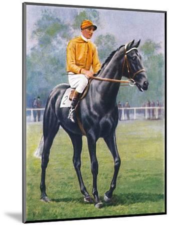Foray, Jockey: P. Beasley', 1939-Unknown-Mounted Giclee Print