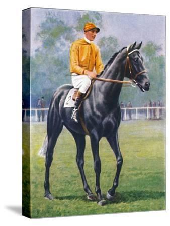 Foray, Jockey: P. Beasley', 1939-Unknown-Stretched Canvas Print