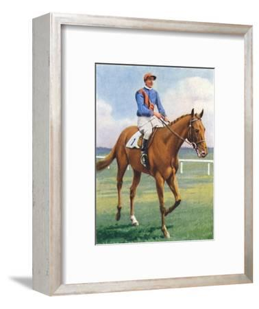Panorama, Jockey: P. Beasley', 1939-Unknown-Framed Giclee Print
