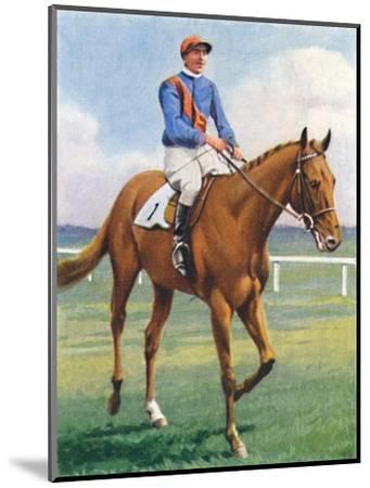 Panorama, Jockey: P. Beasley', 1939-Unknown-Mounted Giclee Print