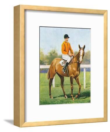 Free Fare, Jockey: B. Hobbs', 1939-Unknown-Framed Giclee Print