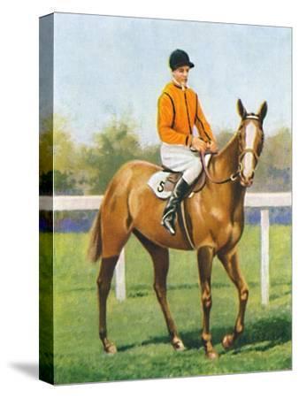 Free Fare, Jockey: B. Hobbs', 1939-Unknown-Stretched Canvas Print