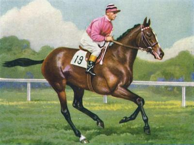 Pasch, Jockey: G. Richards', 1939-Unknown-Framed Giclee Print