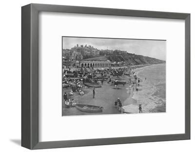 'The East Sands', c1910-Unknown-Framed Photographic Print