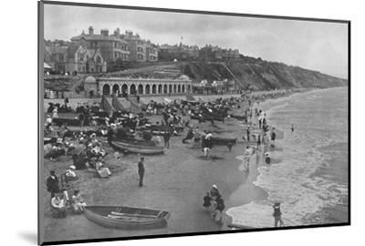 'The East Sands', c1910-Unknown-Mounted Photographic Print
