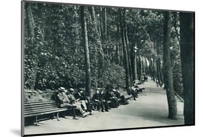 'The Invalid's Walk', c1910-Unknown-Mounted Photographic Print