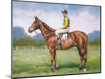 Morse Code, Jockey: D. Morgan', 1939-Unknown-Mounted Giclee Print