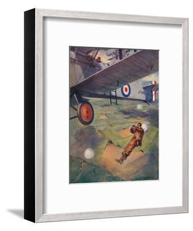 'A Thrilling Moment', 1927-Unknown-Framed Giclee Print