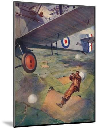 'A Thrilling Moment', 1927-Unknown-Mounted Giclee Print