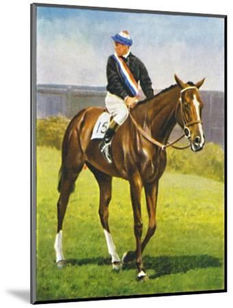 Path of Peace, Jockey: M. Beary', 1939-Unknown-Mounted Giclee Print