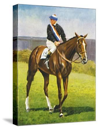 Path of Peace, Jockey: M. Beary', 1939-Unknown-Stretched Canvas Print