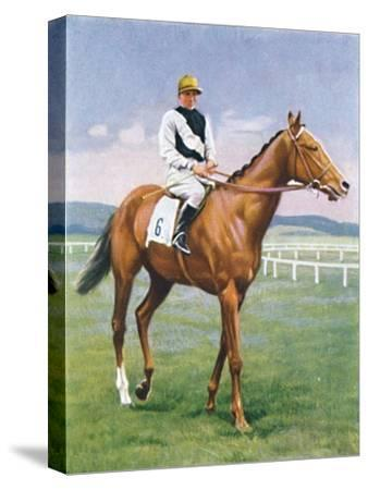 Challenge, Jockey: E. Smith', 1939-Unknown-Stretched Canvas Print
