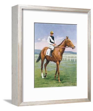Challenge, Jockey: E. Smith', 1939-Unknown-Framed Giclee Print