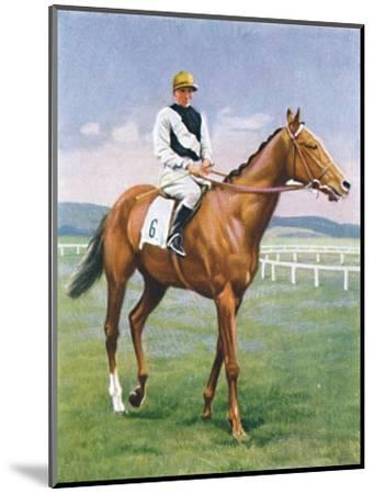 Challenge, Jockey: E. Smith', 1939-Unknown-Mounted Giclee Print