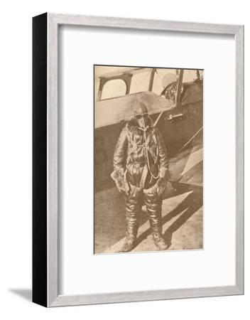 'Ready for the Upper Regions', 1927-Unknown-Framed Photographic Print