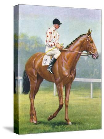 Flares, Jockey: R.A. Jones', 1939-Unknown-Stretched Canvas Print