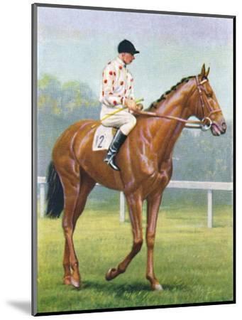 Flares, Jockey: R.A. Jones', 1939-Unknown-Mounted Giclee Print