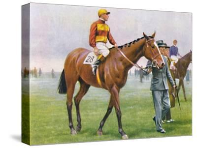 Contrevent, Jockey: A. Tucker', 1939-Unknown-Stretched Canvas Print
