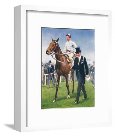 Bois Roussel, Jockey: E. C. Elliott', 1939-Unknown-Framed Giclee Print