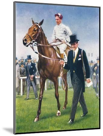 Bois Roussel, Jockey: E. C. Elliott', 1939-Unknown-Mounted Giclee Print