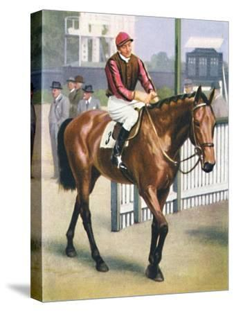 Monument, Jockey: P. Beasley', 1939-Unknown-Stretched Canvas Print