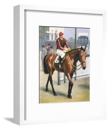 Monument, Jockey: P. Beasley', 1939-Unknown-Framed Giclee Print