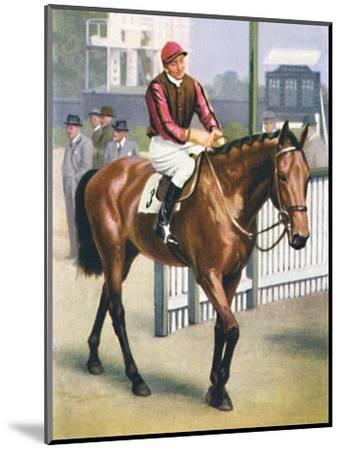 Monument, Jockey: P. Beasley', 1939-Unknown-Mounted Giclee Print
