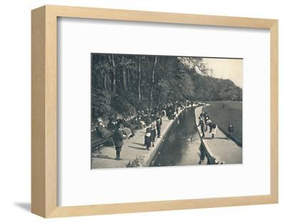 'The Brook, Lower Gardens', c1910-Unknown-Framed Photographic Print
