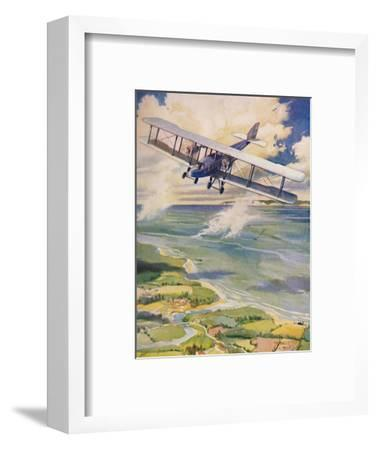 'The Beauty of Flight', 1927-Unknown-Framed Giclee Print