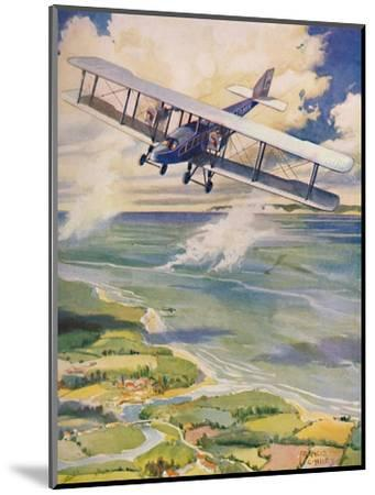 'The Beauty of Flight', 1927-Unknown-Mounted Giclee Print