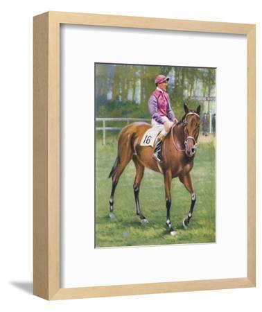 Zoltan, Jockey: M. Beary', 1939-Unknown-Framed Giclee Print