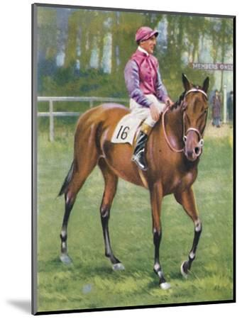 Zoltan, Jockey: M. Beary', 1939-Unknown-Mounted Giclee Print