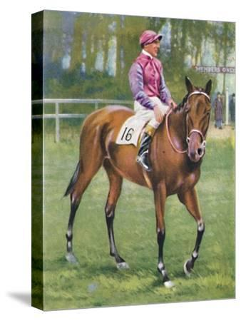 Zoltan, Jockey: M. Beary', 1939-Unknown-Stretched Canvas Print