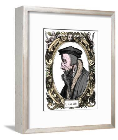 Jean Calvin, French theologian, 1581-Unknown-Framed Giclee Print