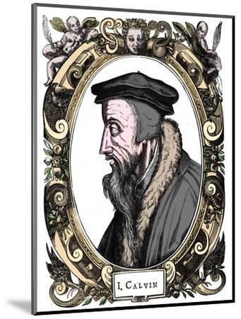 Jean Calvin, French theologian, 1581-Unknown-Mounted Giclee Print