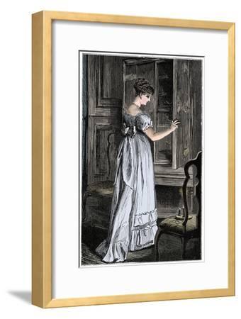Scene from Jane Austen's Northanger Abbey-Unknown-Framed Giclee Print