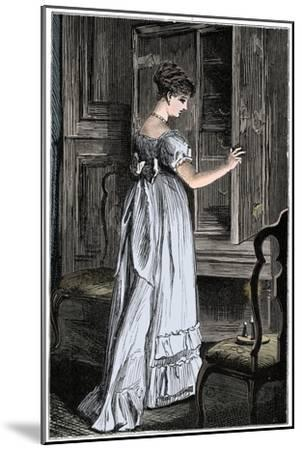 Scene from Jane Austen's Northanger Abbey-Unknown-Mounted Giclee Print