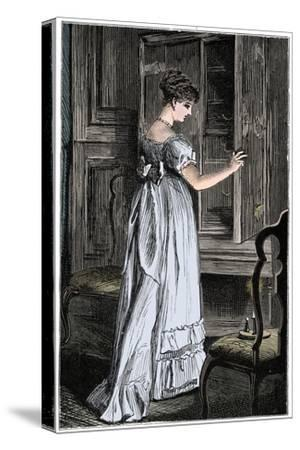 Scene from Jane Austen's Northanger Abbey-Unknown-Stretched Canvas Print