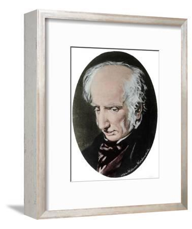 William Wordsworth, English poet-Unknown-Framed Giclee Print