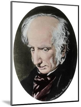 William Wordsworth, English poet-Unknown-Mounted Giclee Print