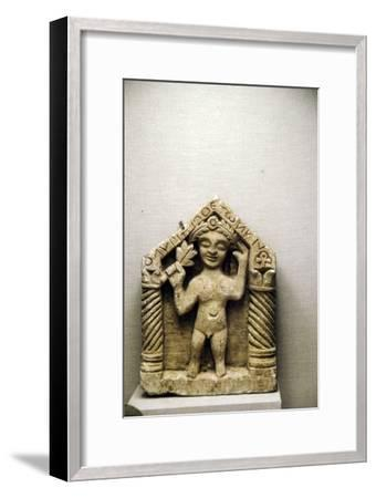 Egyptian Stela with cryptogram For Man called Olympios-Unknown-Framed Giclee Print