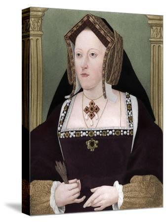 'Catherine of Aragon', c1515, (1902)-Unknown-Stretched Canvas Print