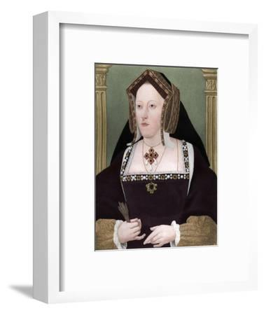 'Catherine of Aragon', c1515, (1902)-Unknown-Framed Giclee Print