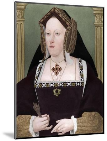 'Catherine of Aragon', c1515, (1902)-Unknown-Mounted Giclee Print