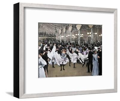 'Le Bal Du Moulin-Rouge', 1900-Unknown-Framed Photographic Print