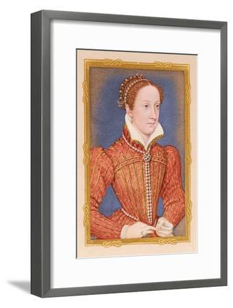 'Portrait - Mary, Queen of Scots', c16th century, (1904). Artists-Unknown-Framed Giclee Print