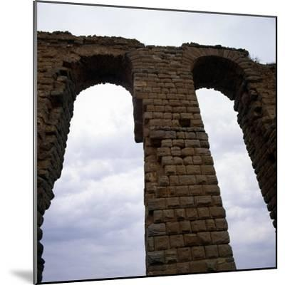 Roman Aqueduct, West of Tunis, c20th century-Unknown-Mounted Giclee Print