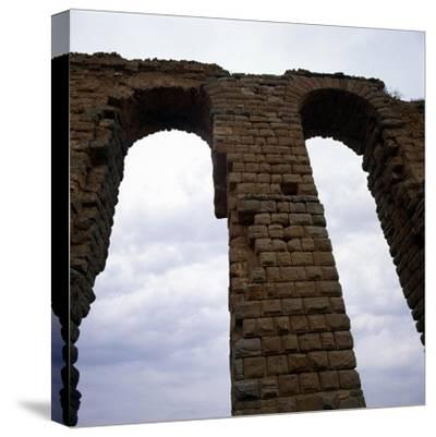 Roman Aqueduct, West of Tunis, c20th century-Unknown-Stretched Canvas Print