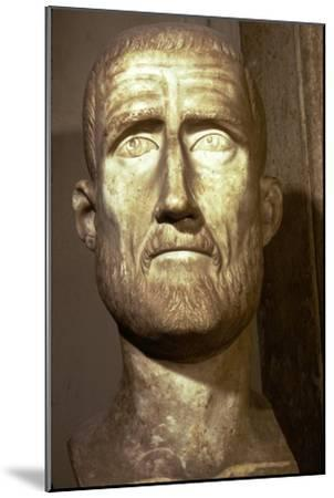 Bust of Probus, Roman Emperor (276-282), c3rd century-Unknown-Mounted Giclee Print