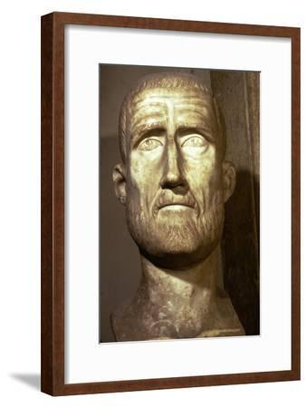 Bust of Probus, Roman Emperor (276-282), c3rd century-Unknown-Framed Giclee Print